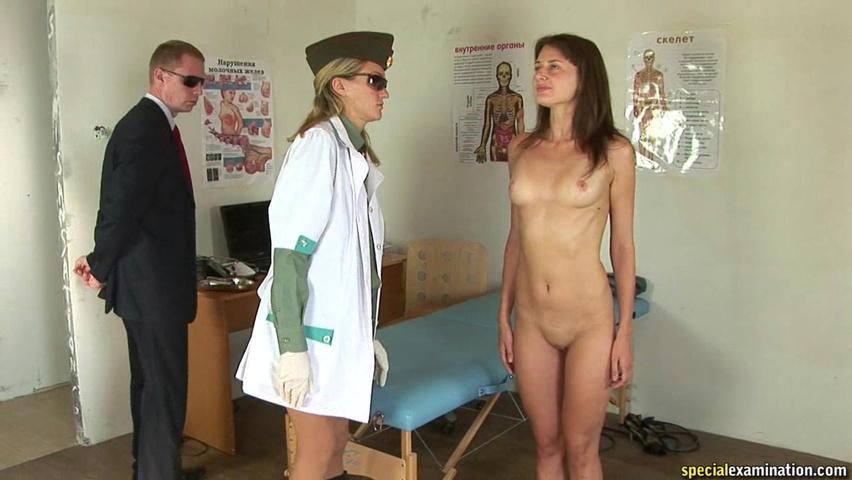 Девушка марина на медкомиссии секс юной толстушки